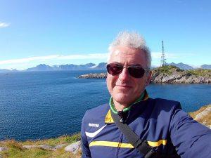 Guerrini a Henningsvaer, isole Lofoten